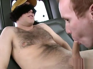 blowjob Gratifying and wild rimming big cock
