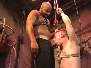 deepthroat BDSM outwait deepthroats black doms cock gay