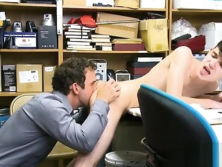 blowjob Teen perp bareback fucked by LP Office-holder major time anal bareback