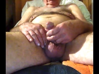 masturbation (gay) grandpa mould on webcam handjob (gay)
