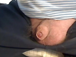 big cock (gay) Mature supplicant stroking his intact horseshit (no cum) amateur (gay)