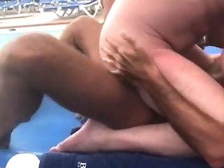 amateur (gay) Horny by someone's skin pool twink (gay)