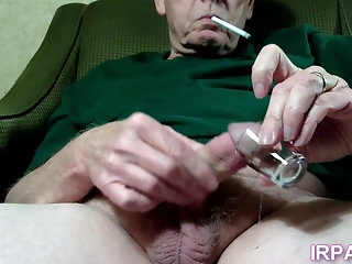 handjob (gay) Tasting Cum From A Have a go Glass big cock (gay)