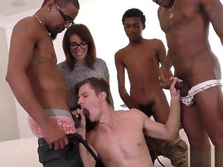 blowjob Alex Chandler swell up duo black gay dicks black